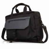 Дорожная сумка Land Rover Nylon And Leather Briefcase LELU354BKA