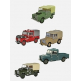 Land Rover Series I Collection, Set of 5, Scale 1:76 LBDC575MXA