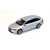 Модель автомобиля Skoda Superb Combi III, 1:43 scale, Silver Brilliant 3V9099300A7W
