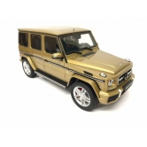 Модель Mercedes-AMG G 63, W463, Model year 2017, Pearl Gold, 1:18 B66961031