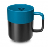 Кружка MINI Colour Dip Cup, Black/Island 80282460903