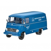 Модель Mercedes-Benz L319, Van, Mercedes-Benz Service, 1956-67, Blue, 1:18 B66040630